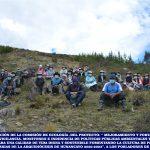 Pastoral Social Cáritas Huancayo, realizó la presentación del proyecto a los pobladores de Pucará